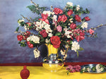 Still life Jar Bouquet Art Print from 1944 by Goes - 12x16 - West Coast Picture Frames LLC