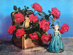 Still life Ceramic Doll Art Print from 1944 by Goes - 12x16 - West Coast Picture Frames LLC