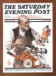 The Saturday Evening Post Illustration - 1972 - 10x14 - West Coast Picture Frames LLC