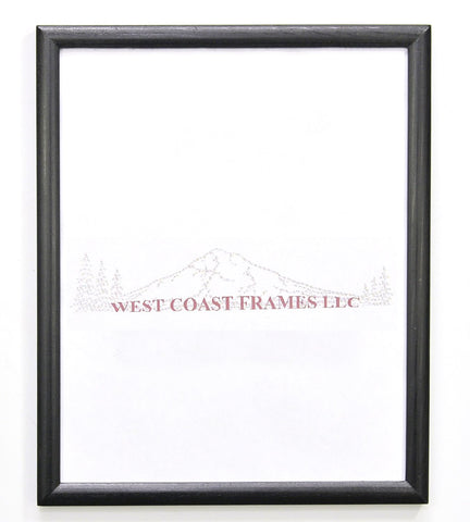 Black Certificate Frame - MDF - MADE IN USA - 73RT