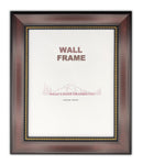 Document Frame Traditional with Bead - Black - Walnut - Cherry
