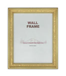 Picture Frame Antique Gold or Black with beads