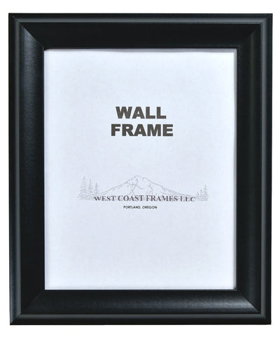 Picture Frame Black with Glass - MADE IN USA - 20379