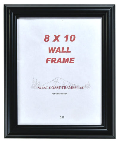 Picture Frame Black Poly - 511