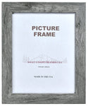 Picture Frame Gray or Brown Barnwood Finish - MADE IN USA