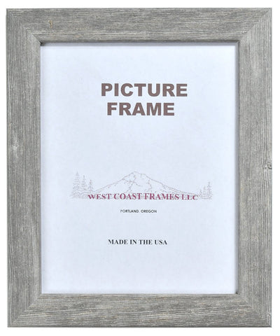 Picture Frame Steel Bar Finish - Gray - Rust - Rustic - MADE IN USA