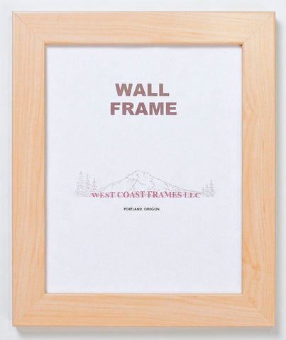 Picture Frame Natural or White Finish - MADE IN USA