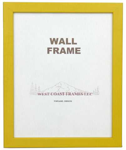 Picture Frame Multiple Colors - Blue - Green - Red - Yellow - MADE IN USA