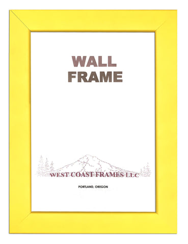 Picture Wood Frame Multiple Colors - Yellow - Orange - Red - Burgundy