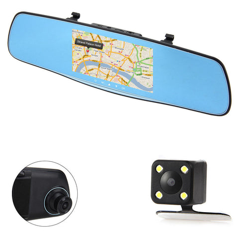 Next Day Delivery 5 1080p Smart Car Rearview Mirror Built In Sat