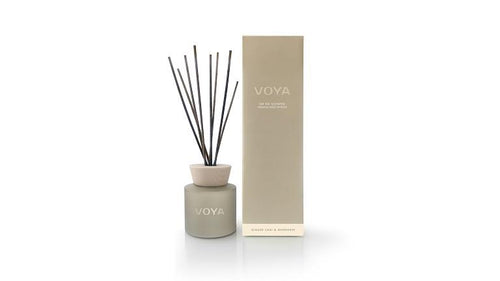 Voya Oh So Scented Reed Diffuser - Ginger Chai and Mandarin - Cardamomo