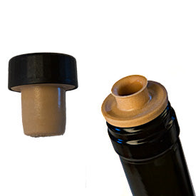 Bar Top Corks with Integral Pourer