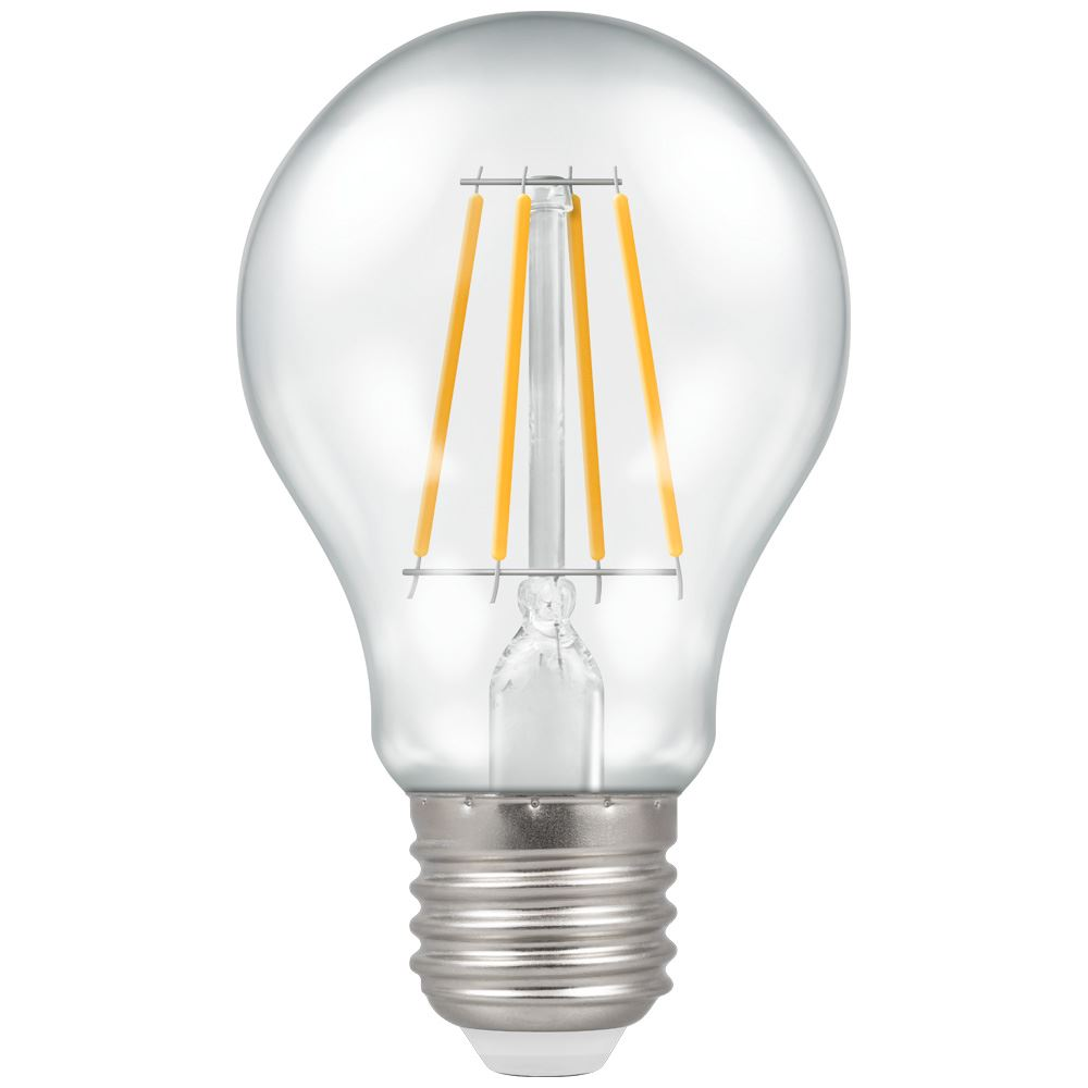 LED GLS Filament Clear • Dimmable • 7.5W (60W) • 2700K • ES-E27