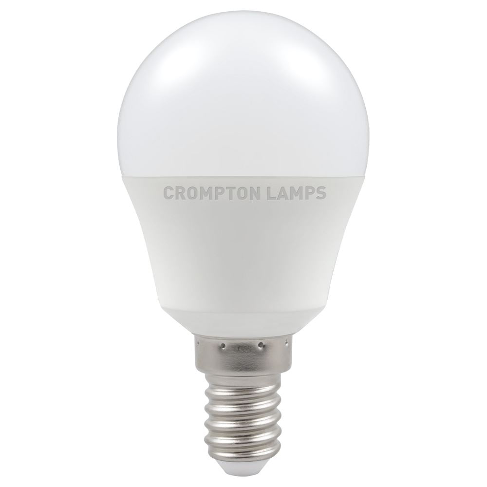 LED Round Thermal Plastic • 5.5W • 2700K • SES-E14