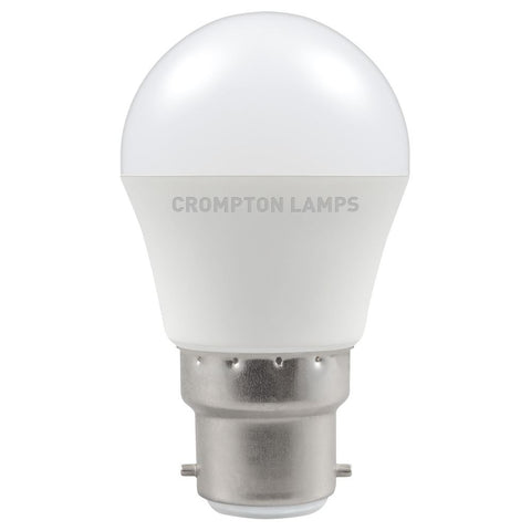 LED Round Thermal Plastic • 5.5W • 2700K • BC-B22d