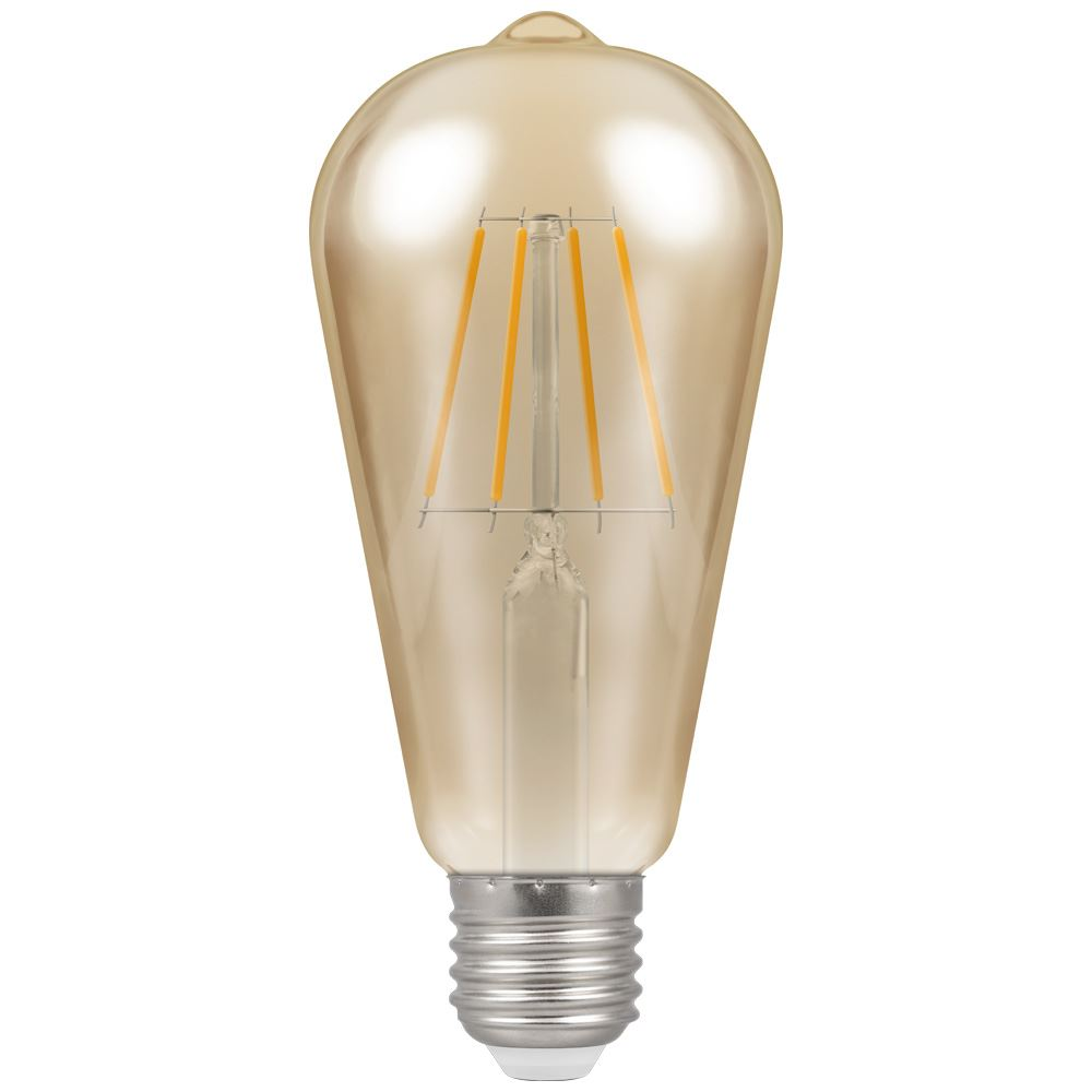 LED ST64 Filament Antique • Dimmable • 7.5W • 2200K • ES-E27