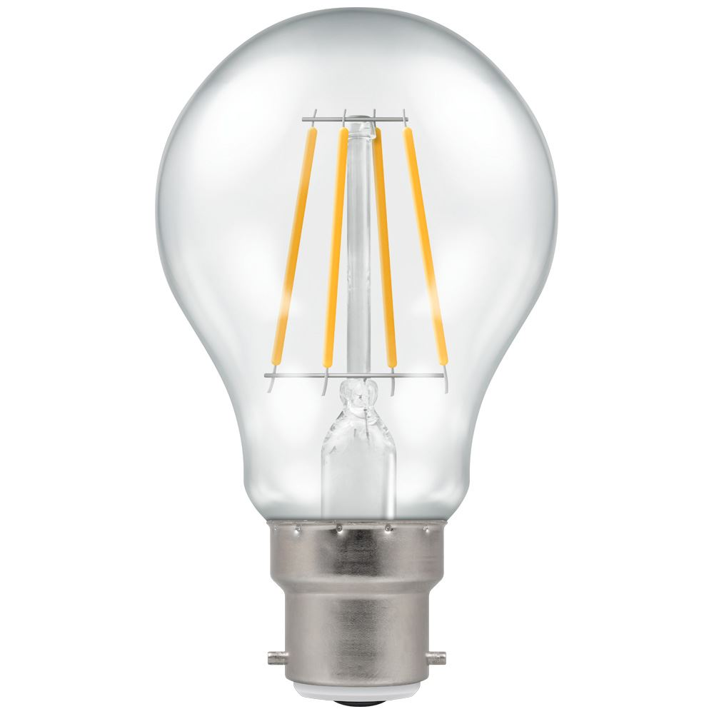 LED GLS Filament Clear • Dimmable • 7.5W (60W) • 2700K • BC-B22d