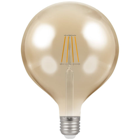 LED Globe G125 Filament Antique • Dimmable • 7.5W • 2200K • ES-E27