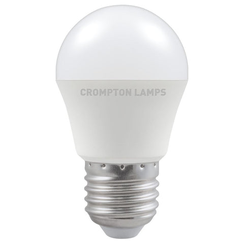 LED Round Thermal Plastic • 5.5W • 2700K • ES-E27