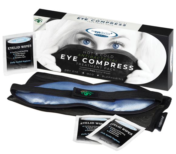 Eye Doctor Warm and Cold Eye Mask/Ccompress
