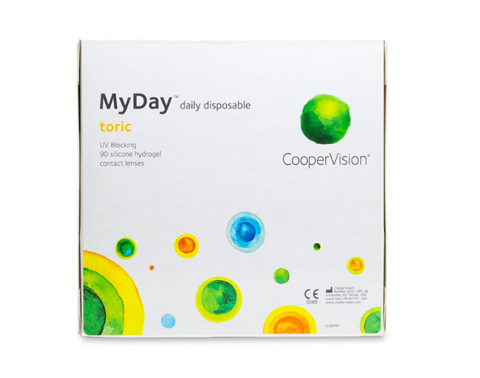 MyDay Toric daily disposable (90 Pack)