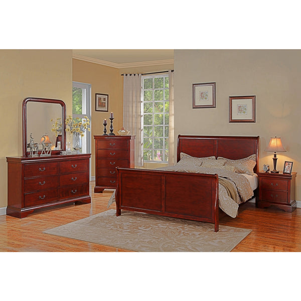 Leilani Sleigh Bed