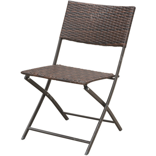 Resin Wicker Foldable Chair