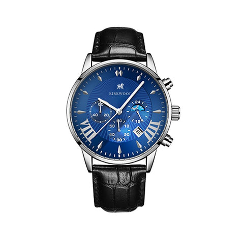 Eclipse Blue Calendar Watch - Kirckwood Watches