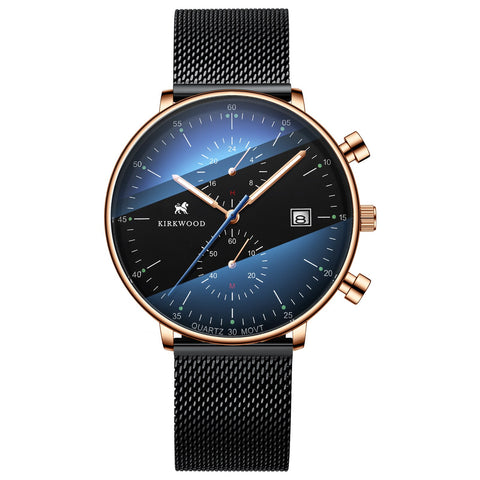 Speedway Black / Gold Quartz Watch