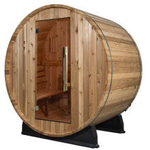Load image into Gallery viewer, Oasis Basic Barrel Sauna- No canopy