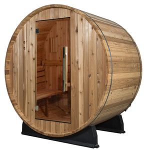 Oasis Basic Barrel Sauna- No canopy