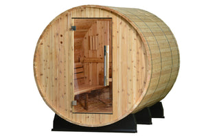 Retreat Basic Barrel Sauna - No canopy