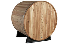 Load image into Gallery viewer, SANCTUARY 2-person Canopy Barrel Electric Sauna