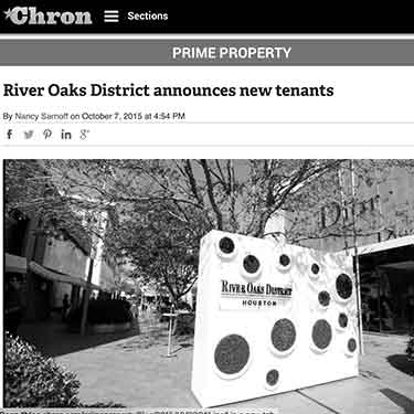 Houston Chronicle River oaks district announces new tenants