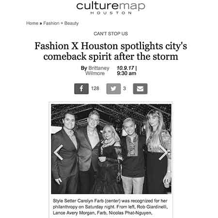 Culturemap Fashion X Houston