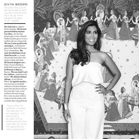 Divya Brown Modern Luxury Houston Magazine