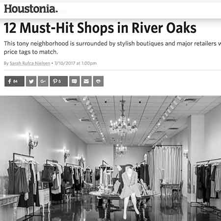 Houstonia Magazine: 12 Must Hit Shops