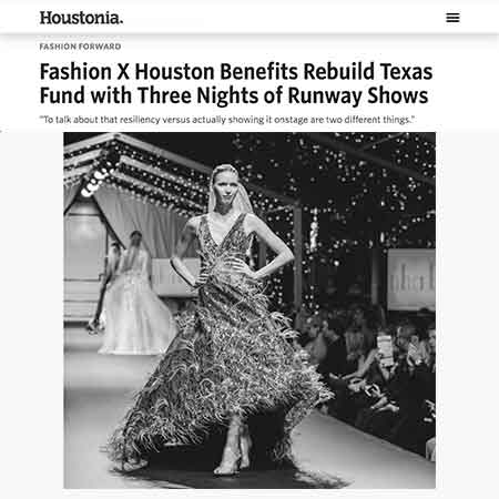 Houstonia Magazine Fashion X Houston Rebuild Houston