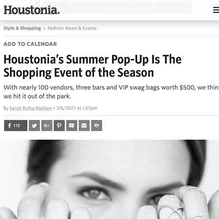 Houstonia Summer Popup Shop