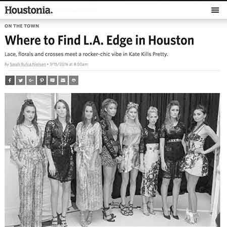 Houstonia Magazine: Where To Find LA Edge in Houston