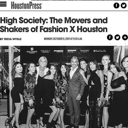 HoustonPress: Movers and Shakers of Fashion X Houston