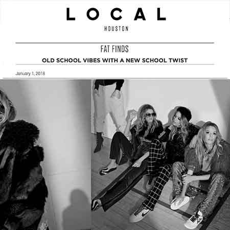 Local Houston Magazine Fat Finds Old School New School