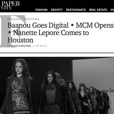 Papercity magazine Baanou goes digital