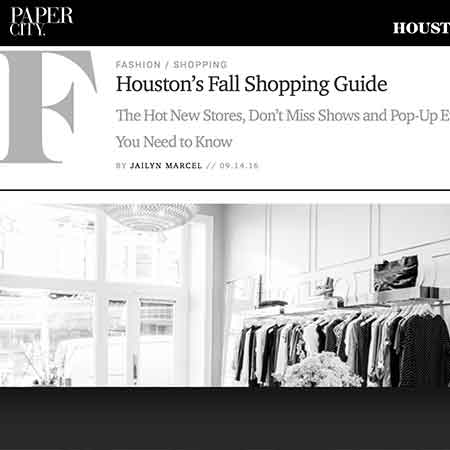 PaperCity Fall Shopping Guide