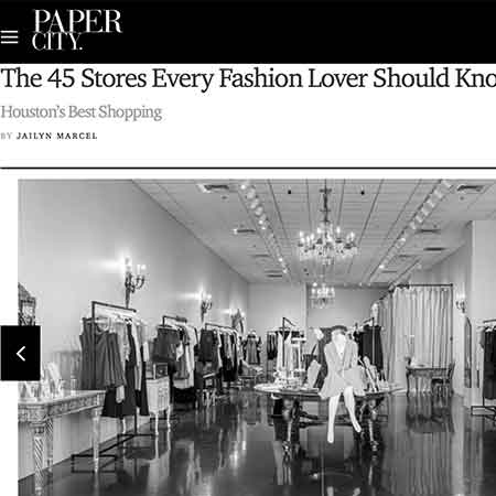 PaperCity Magazine: Houston's Best Shopping