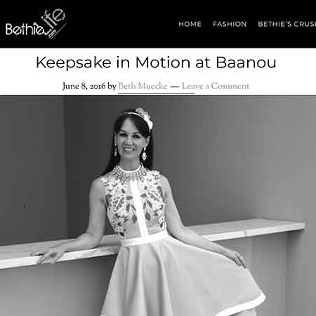 Bethie Life Keepsake in motion dress