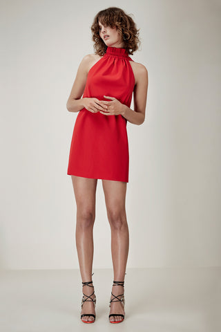 C/MEO Out of Line Mini Dress Cherry