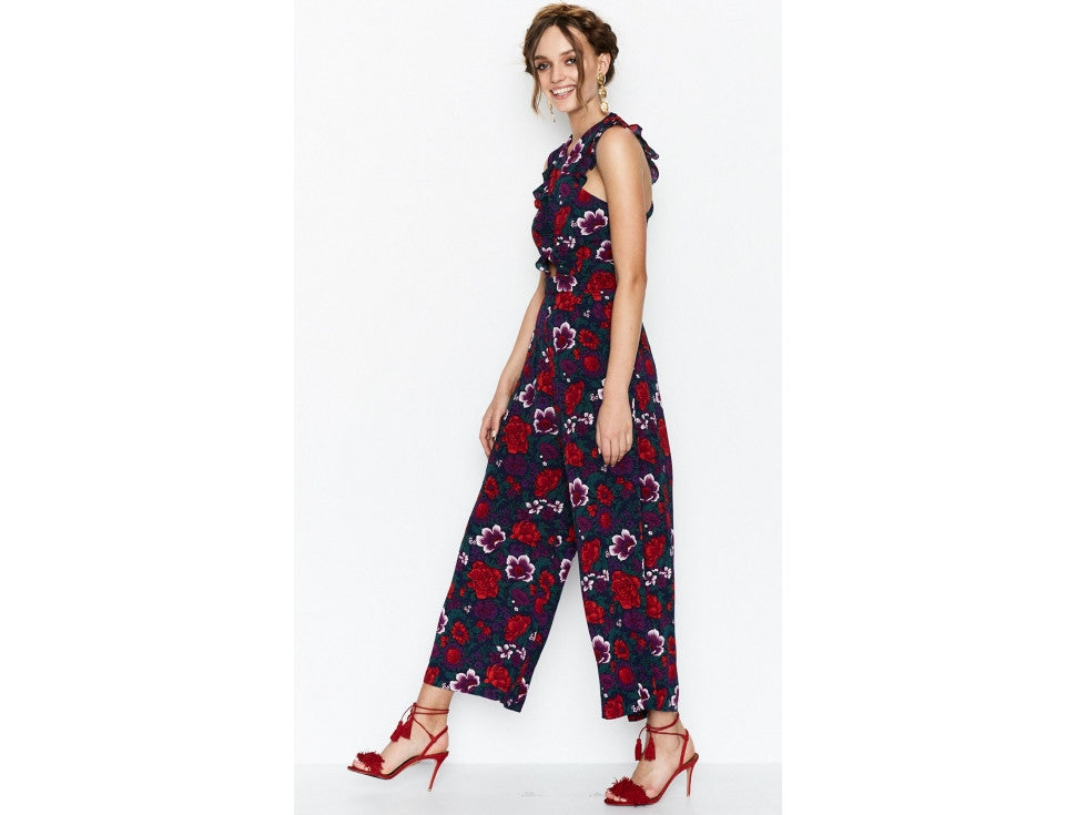 Alice McCall Wildwood Jumpsuit - Violet Floral