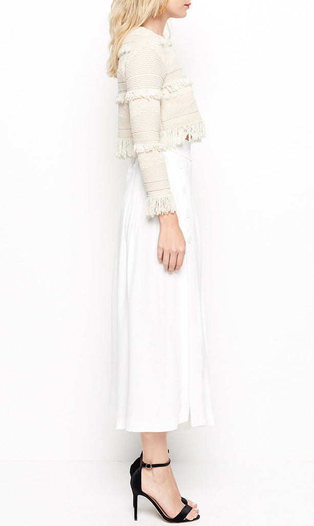 Alice McCall Light Years Cullottes Pants White