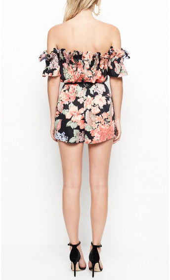 Alice McCall Whole Lotta Love Playsuit Evening Floral